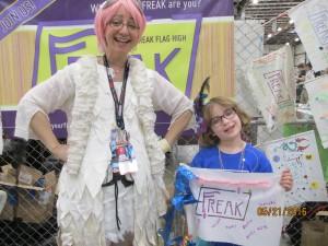 Queen Freak and Little Freak